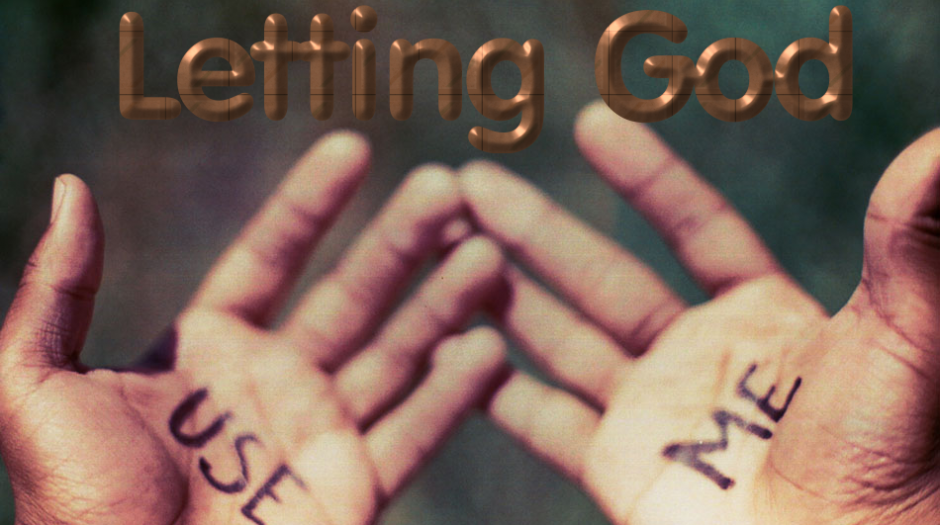 Letting God Help Others