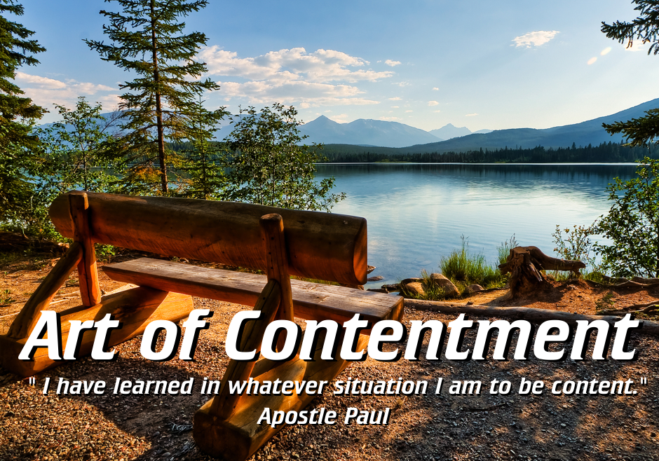 The Art of Contentment Part 2