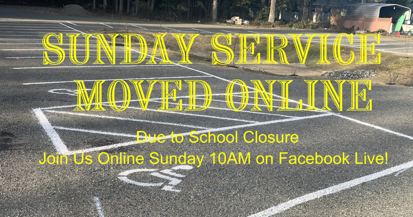 Sunday Service Moved Online